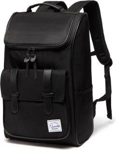 Backpack for men,Vaschy Vintage Water Resistant Daypack Rucksack College School best rucksack for school