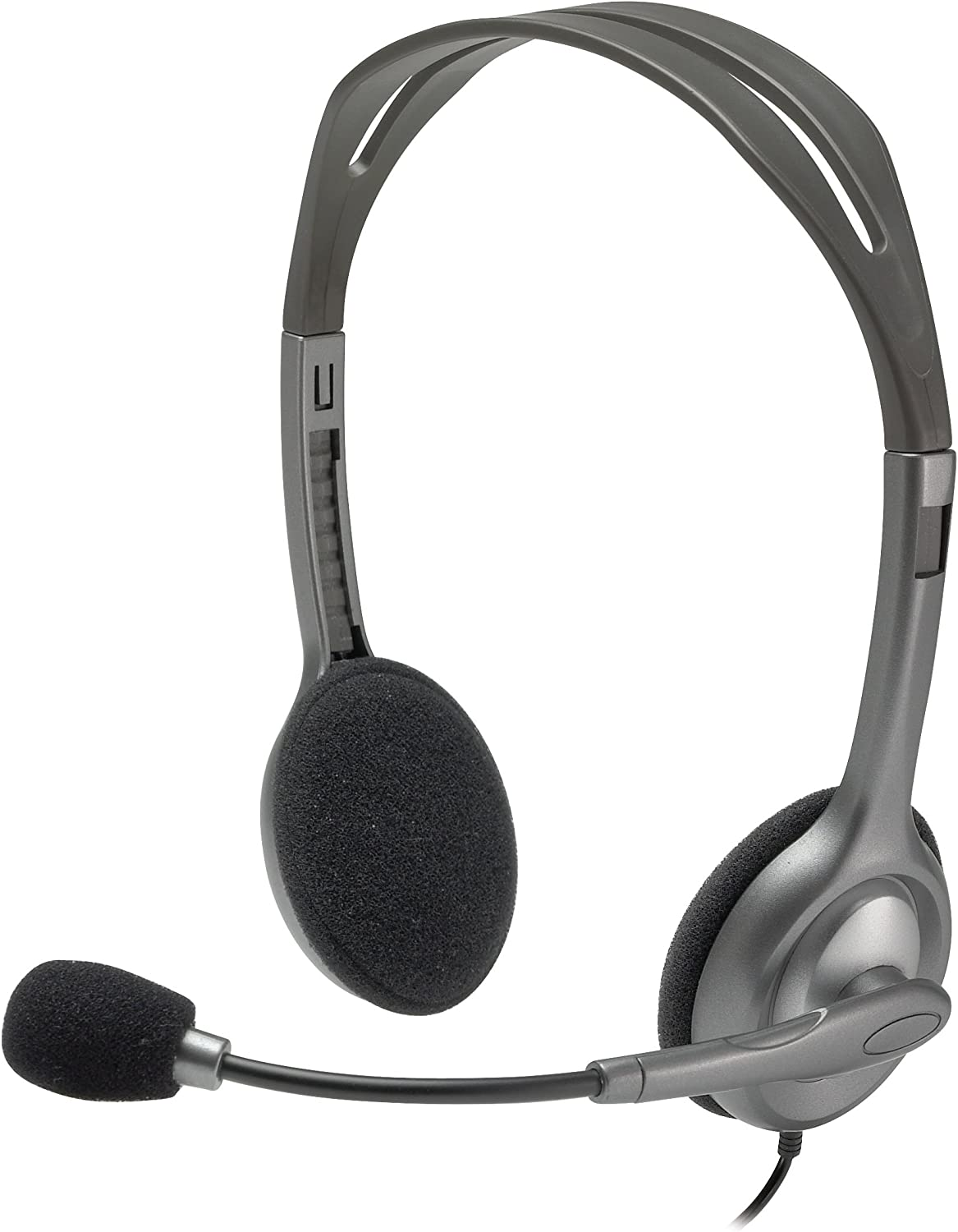 Amazon.com: Logitech Stereo Headset H111: Computers & Accessories