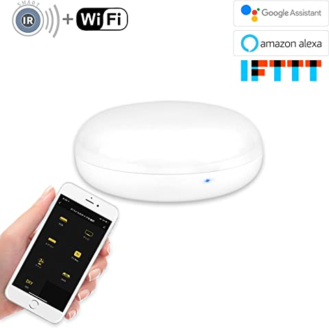【Amazon.co.jp限定】SWE WiFi スマート家電リモコン Alexa/Google Home 対応 UFO-WR001 白
