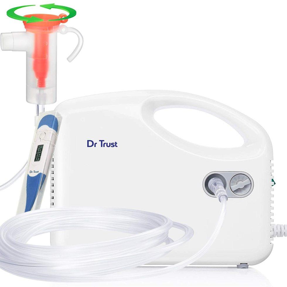 Nebulizer Machine Kit (White)Flow adjuster page on Swasthya Sathi health insurance