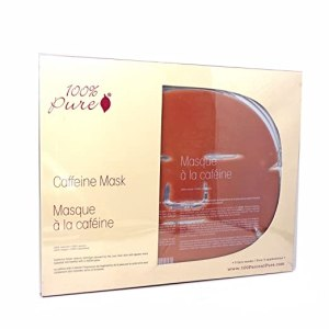 100% Pure Caffeine Mask 5 Pack