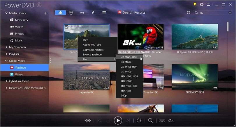 Amazon.com: Cyberlink PowerDVD 19 Ultra: Most Powerful Media Player for PCs: Software