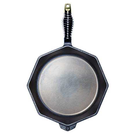 """FINEX - 10"""" Cast Iron Skillet with Lid, Modern Heirloom, Handcrafted in the USA"""