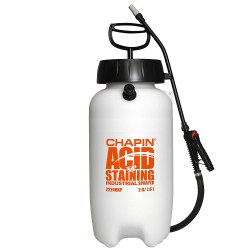 Chapin 22240XP 2-Gallon Industrial Acid Staining Sprayer with Pressure Relief Valve