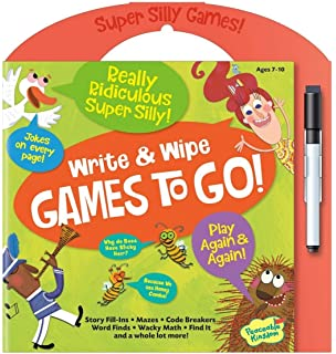 Wipe and Go Games