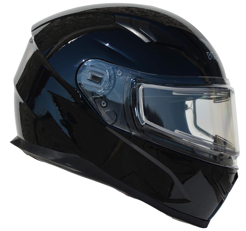 Vega Helmets Ultra Electric Snow Unisex-Adult Full Face Snowmobile Helmet with Heated Shield