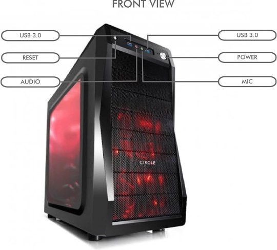 budget pc cabinet