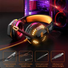 G2000 Stereo Gaming Headset for Xbox one PS4 PC 6