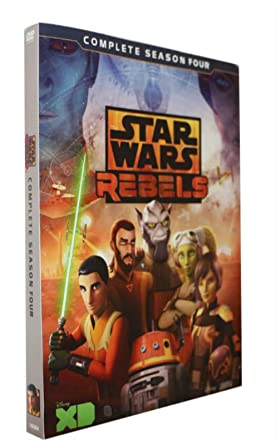 Star Wars Rebels Season 4 Dvd Brand New And Sealed Fast