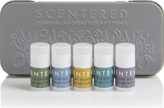 aromatherapy mini balms, pamper yourself