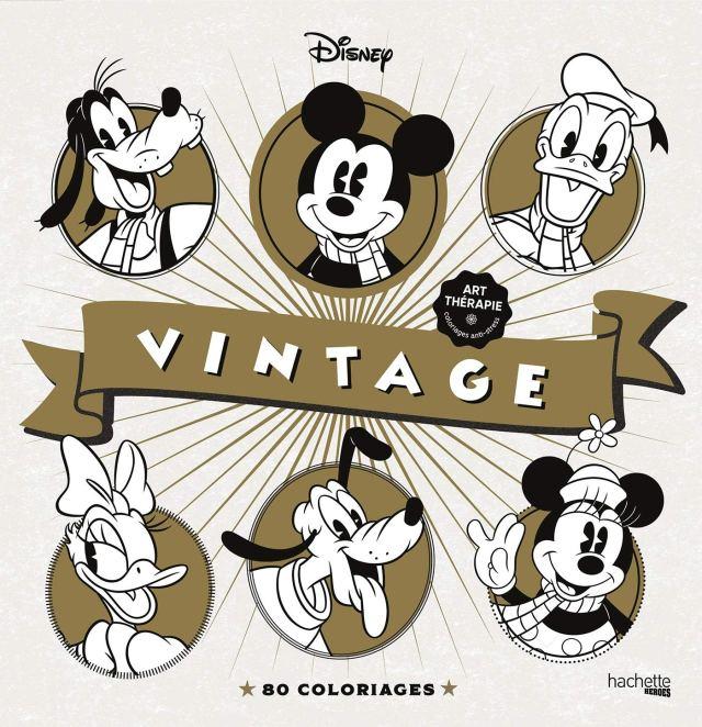 Les coloriages Disney Vintage: 18 coloriages : Sala, Laëtitia