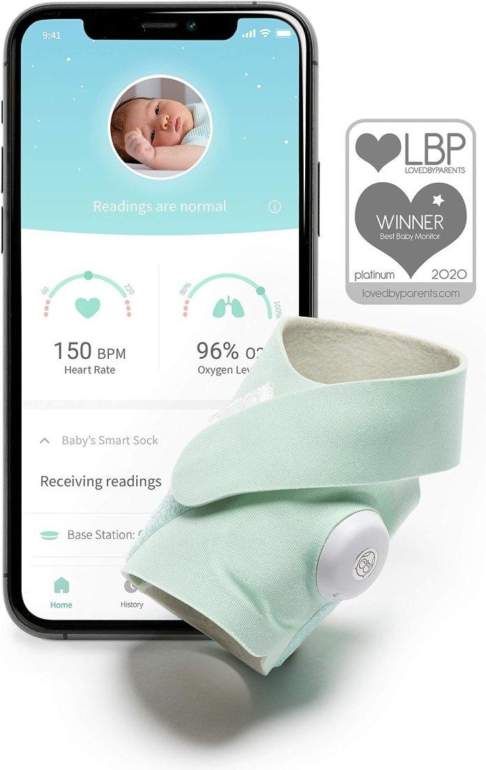 Owlet Smart Sock 3 Europe Amazon Co Uk Baby
