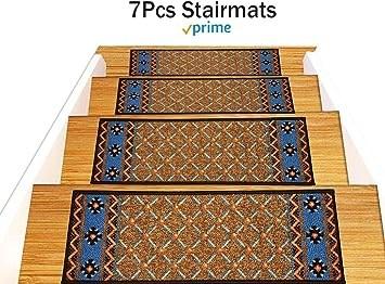 Stair Treads Carpet Non Slip – Stair Runners For Wooden Steps Non   Non Slip Stair Rugs   Bullnose Carpet   Carpet Rug   Mat   Stair Runners   Tread Covers