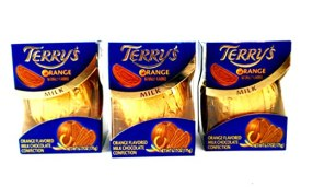 Terry's Chocolate Orange 6.17 Oz. Pack of Three