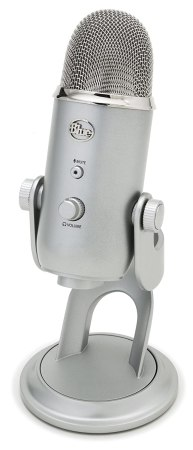 Blue Yeti review - I mean, it's actually silver 12