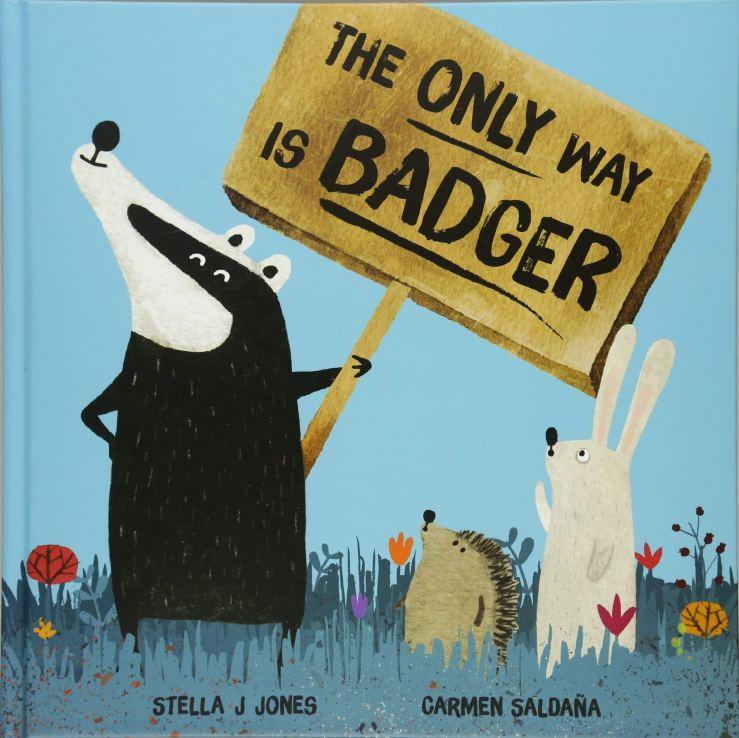 "Image result for The only way is badger / Stella J. Jones, Carmen Saldaña."""
