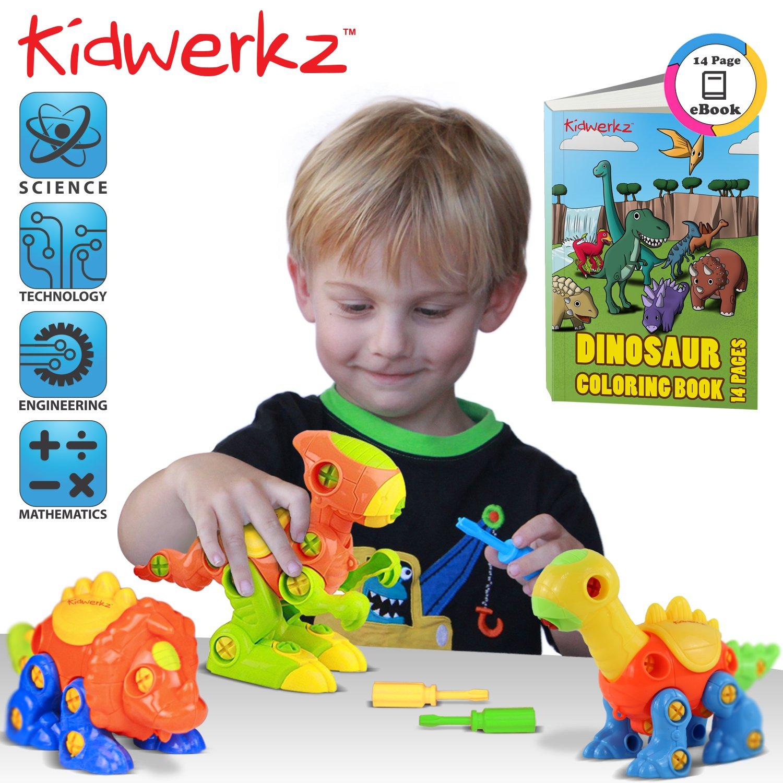 Kidwerkz Dinosaur Toys