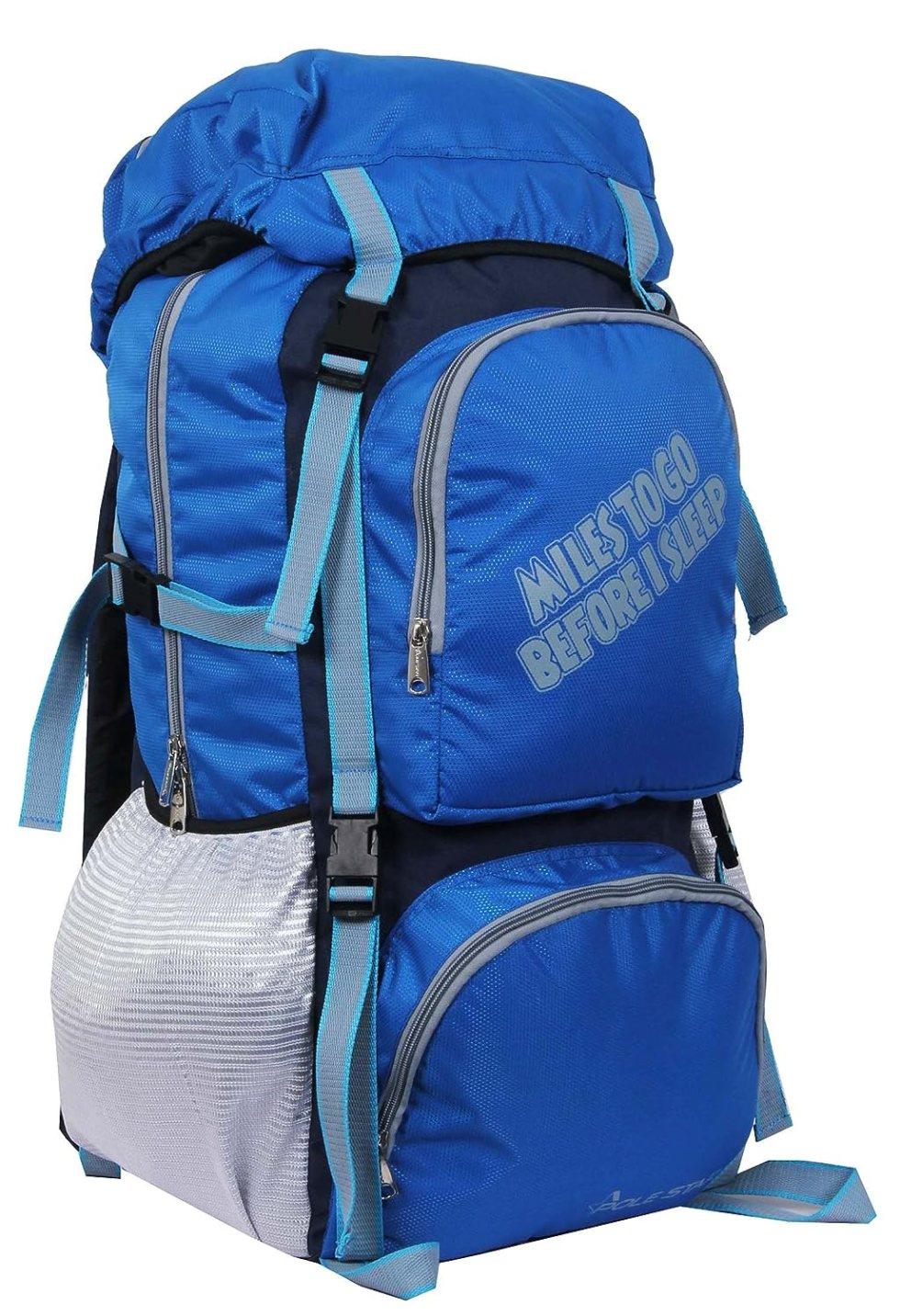 Rocky Polyester Travel Bag 60 Lt Royal Blue Weekend Backpack Bag