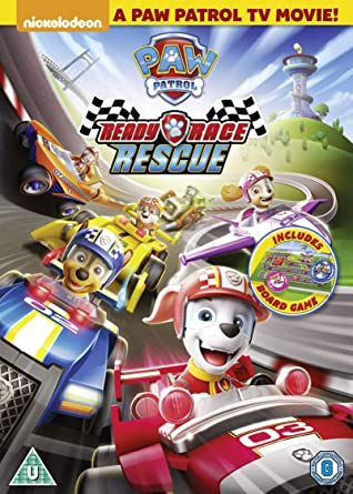 Paw Patrol Ready Race Rescue Dvd 2020 Amazon Co Uk Dvd Blu Ray