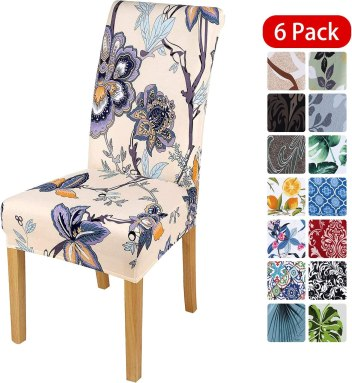 Smiry Stretch Printed Removable Slipcovers