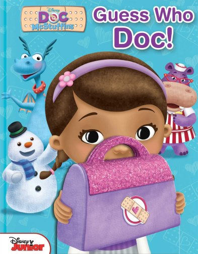 Disney Doc McStuffins Guess Who, Doc! (1): Disney Doc McStuffins:  9780794430054: Amazon.com: Books