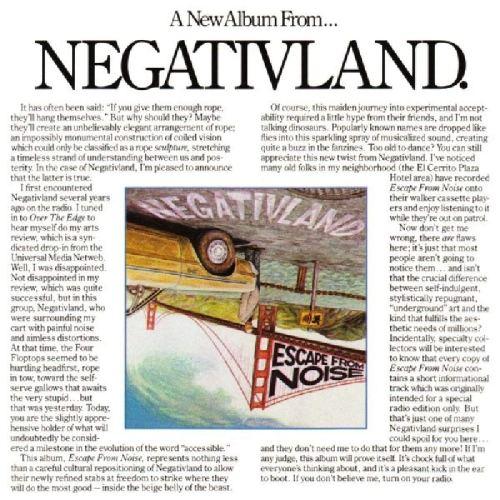 Escape from Noise: Negativland: Amazon.fr: Musique