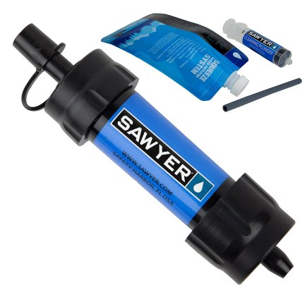Sawyer Products SP128 MINI Water Filtration System, Single