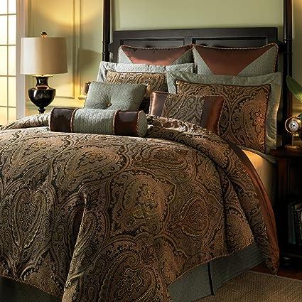 Hampton Hill Canovia Springs King Size Bed Comforter Duvet  Set Bed