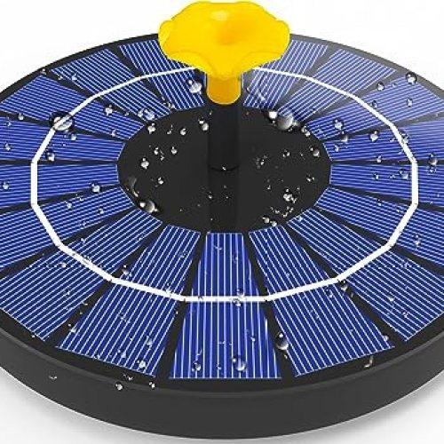 Viajero 2021 4W Solar Fountain with 3000mAh Battery Backup