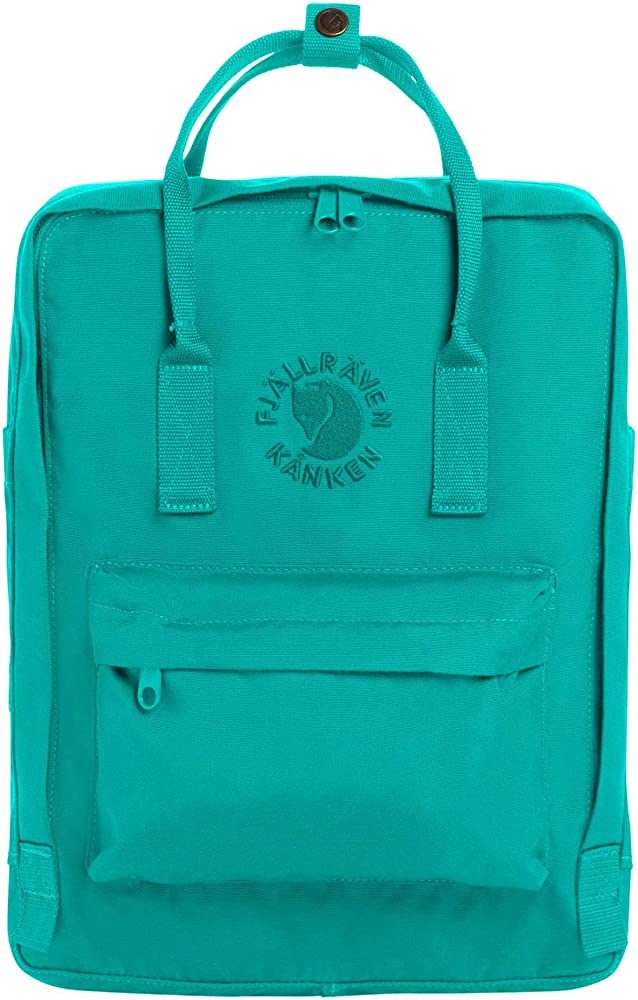 Amazon.com: Fjallraven, Re-Kanken Recycled and Recyclable Kanken Backpack  for Everyday, Emerald: Fjallraven: Sports & Outdoors