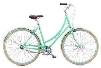 "PUBLIC Bikes Women's C1 Dutch Style Step-Thru Single-Speed City Bike, 20""/Large, Mint (2015 Model)"