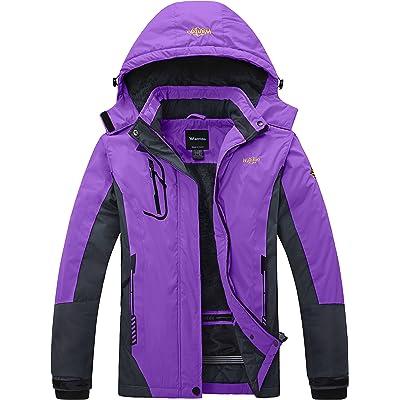 Wantdo Women's Waterproof Jacket