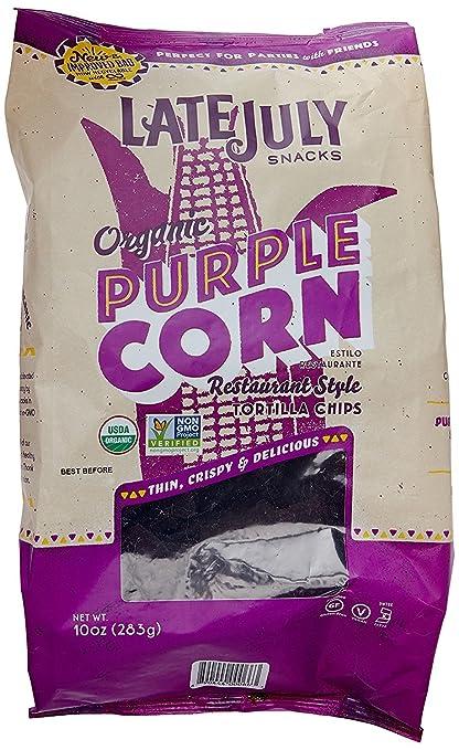 Certified Organic Purple Corn Chips