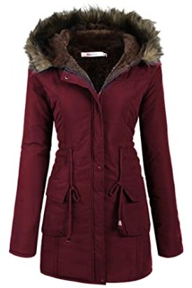 Image result for Beyove Womens Military Hooded Warm Winter Faux Fur Lined Parkas Anoraks Long Coats Beyove Womens Military Hooded Warm Winter Faux Fur Lined Parkas Anoraks Long Coats