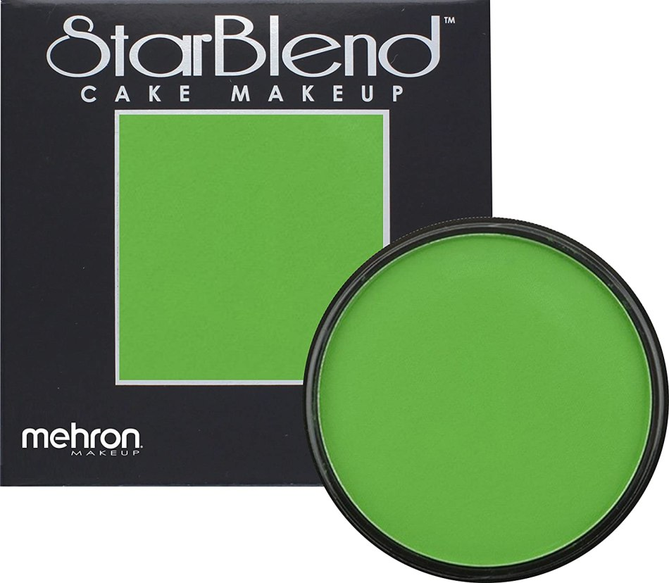 Mehron Makeup StarBlend Cake Makeup GREEN – 2oz