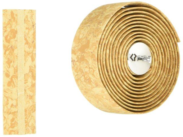 CYCLE PRO(サイクルプロ) コルクバーテープ コルク柄 エンドプラグ付 オールラウンド CP-BT004
