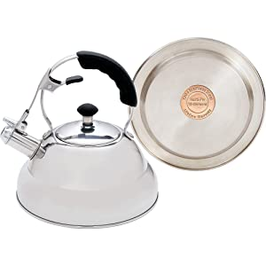 Chef's Secret Stainless Steel Tea Kettle with Copper Bottom
