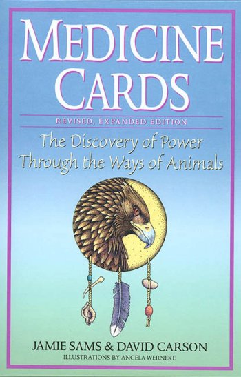 Medicine Cards by Sams & Carson - Book Cover Art