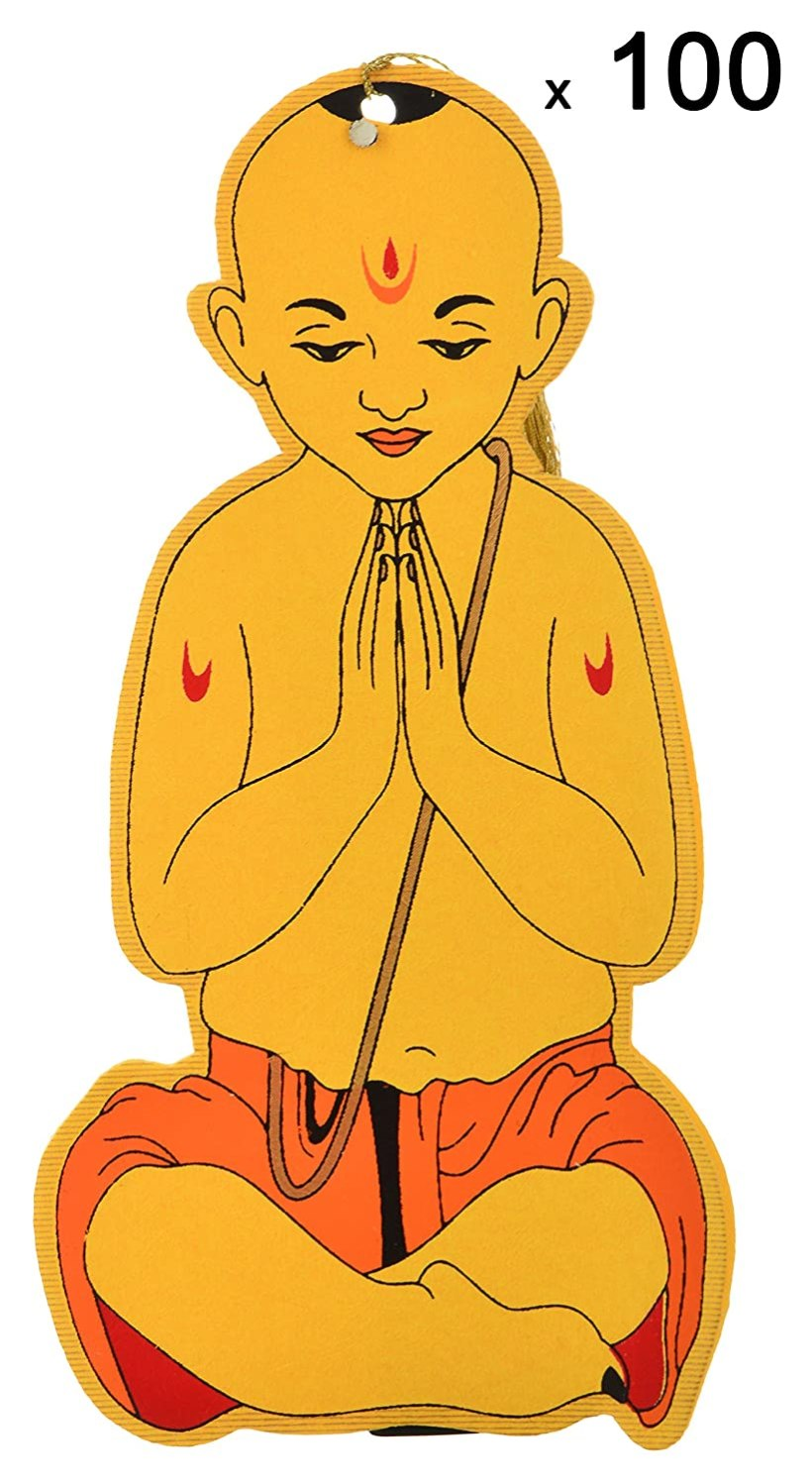 Shubham Upanayana Cards 5 Inches X 10 Pack Of 100 In Office Products