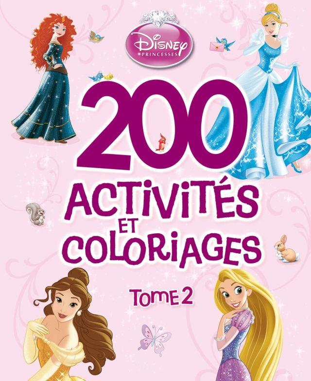 Princesses Tome 9, 900 ACTIVITES ET COLORIAGES (900 activités et