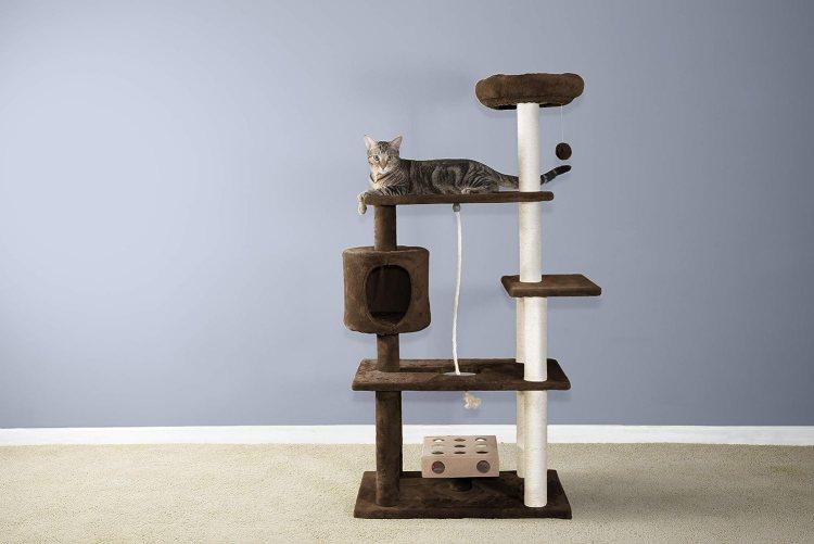 Mejores árboles para gatos con rascador