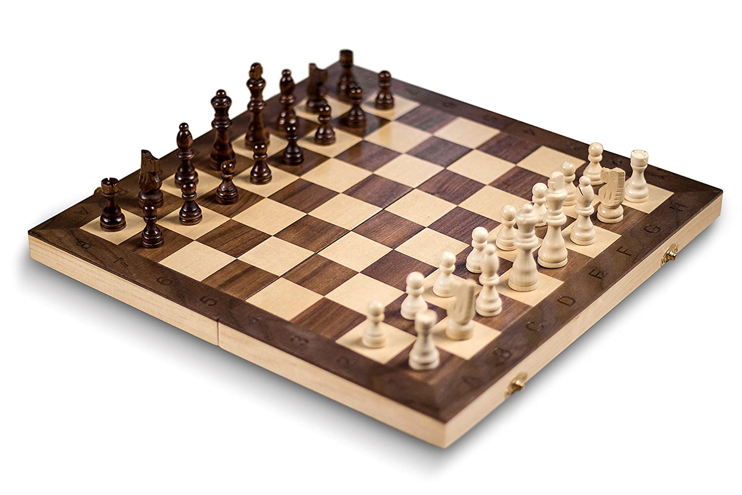 GrowUpSmart Smart Tactics Folding Chess Set