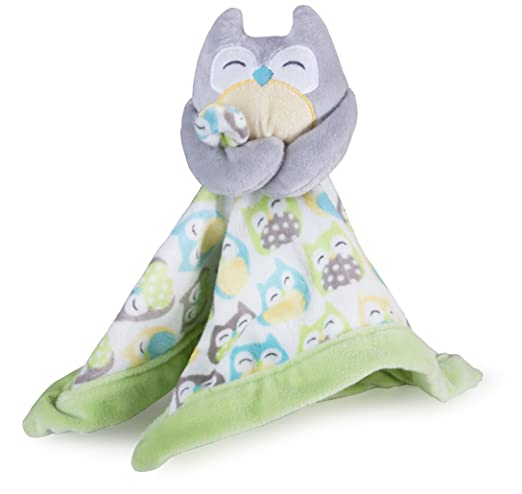 Carter's Security Blanket, Grey Owl (Discontinued by Manufacturer)