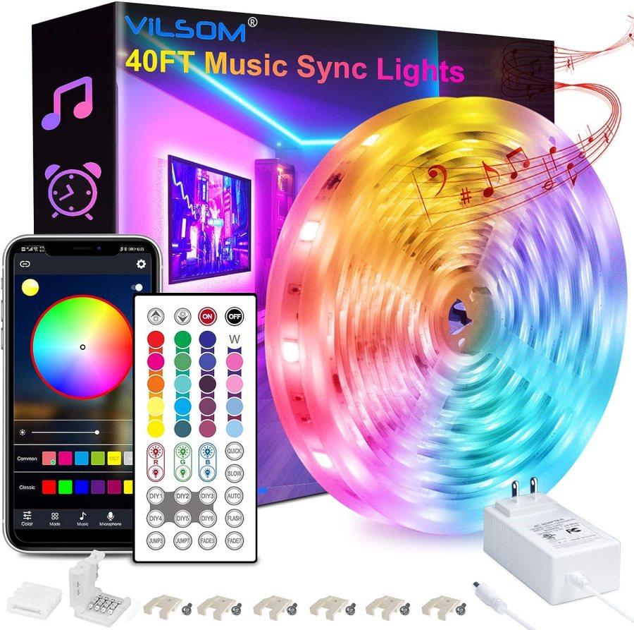 ViLSOM 40FT LED Strip Lights