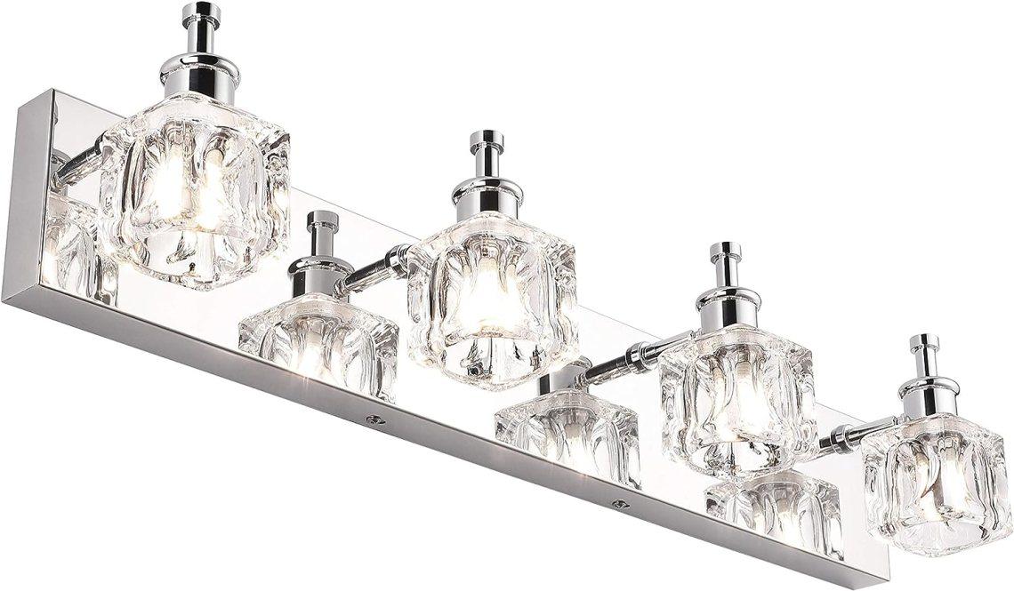 PRESDE Bathroom Vanity Light Fixtures Over Mirror Modern ...