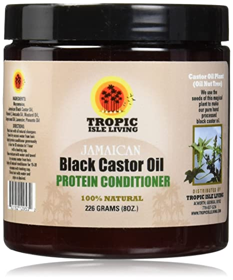 Tropic Isle Living- Jamaican Black Castor Oil Protein Hair Conditioner-8oz
