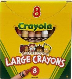 Crayola's Multi-Cultural Crayons