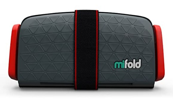 mifold Grab-and-Go Car Booster Seat, Slate Grey