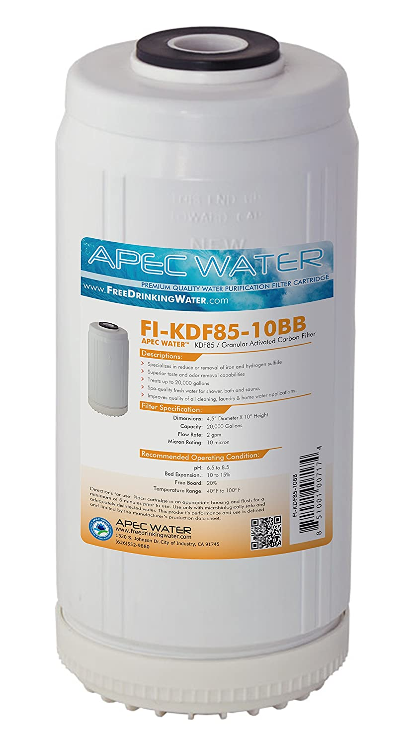 """APEC 10"""" Whole House Replacement Water Filter Iron"""
