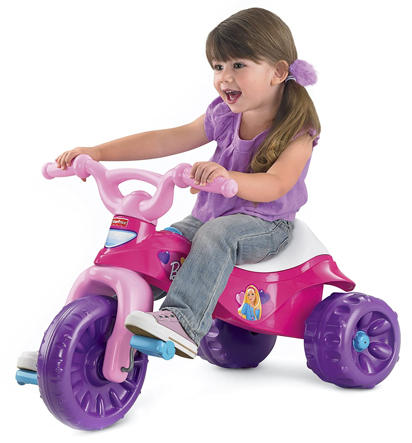 FP Surprise Sounds Home Fisher Price Barbie Tough Trike